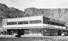 Mastertreads on the Foreshore 1965 - Cape Town photos / South Africa High Resolution Photos, Cape Town, Old Houses, Old Photos, Landscape Photography, South Africa, History, Places, Vintage