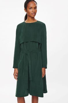 COS | Dress with layered front