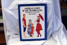 Sale Costume Book American Family Victorian Era Paper Dolls used by RTFX on Etsy