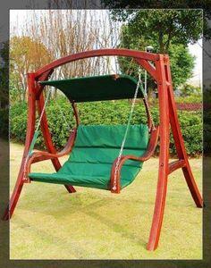 169 best wooden swings images wooden swings bench swing garden rh pinterest com