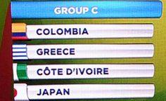 Група С  Мондиал 2014
