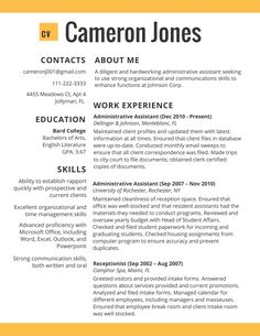 Buffet Attendant Sample Resume Brilliant 49 Best Best Cv Ever Images On Pinterest  Productivity Resume .