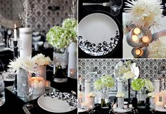 {Smart Inspiration}: It's Black and White - By Celebrity Wedding Reporter