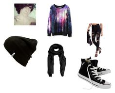 """""""His girl"""" by miriam-simpson on Polyvore featuring Mode, Missguided, Chicwish, Converse, Vans und Violeta by Mango"""