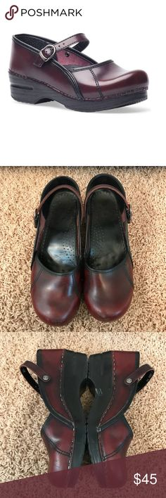Dansko Clogs Mary Jane Marcelle Mules 9 Shoes 39 1️⃣5️⃣ Professional shoes (nurse shoes) when you need to stand all day  Some wear nothing too crazy see pics Marcelle blends the look of a modern mary jane with the comfort of our popular professional clog. If you spend long hours on your feet, you have to pick up a pair from Dansko's Stapled Clog collection. Each has a polyurethane rocker-bottom sole, designed to protect the feet, legs, and back from the stress of standing or walking, and to…