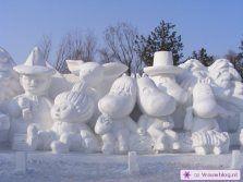 Sneeuwsculpturen 04