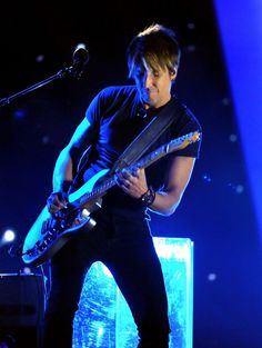 "Keith Urban performs on ""The GRAMMY Nominations Live!! — Countdown To Music's Biggest Night"" on Dec. 6 in Los Angeles"