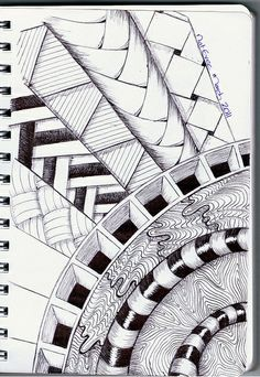 Zenshine. Zentangle is the art of drawing structured patterns to create beautiful artwork. It can be very therapeutic and relaxing. Who couldn't use a little relaxation?