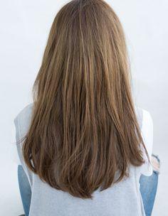 透明感のあるルーズセミロング(IH-111)   ヘアカタログ・髪型・ヘアスタイル AFLOAT(アフロート)表参道・銀座・名古屋の美容室・美容院