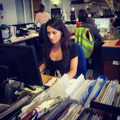 Sophie Morgan at Debenhams HQ!
