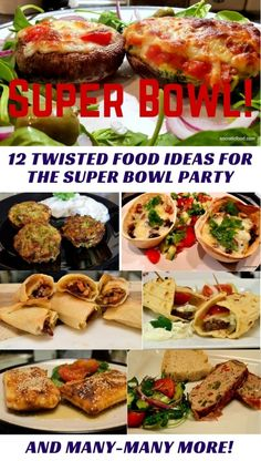12 twisted food ideas for the Superbowl party