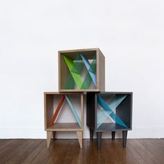 Elsa Rands 2013 furniture collection Check out Dieting Digest Cabinet Furniture, Living Furniture, Wood Furniture, Modern Furniture, Furniture Design, Rack Design, Diy Design, Elsa, Handmade Furniture