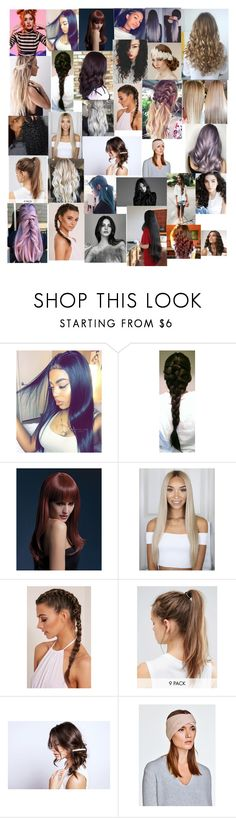 """""""Even More Hair"""" by mikahelaine ❤ liked on Polyvore featuring beauty, NIKE, Dream Collective and White + Warren"""