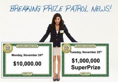 We're not going to have 1 winner next week...we're going to have 2!!!!! YAY #PCH!