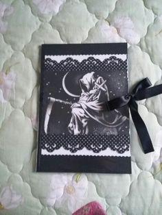 Caderno da morte trabalho escolar