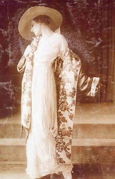 Lucile (Lady Duff Gordon) coat and dress, c. 1910 (Titanic survivor)