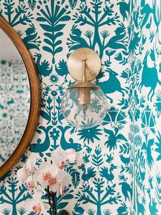 38 best small bathroom wallpaper images small bathroom wallpaper rh pinterest com