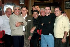 Sonny franzese and the cast of the sopranos