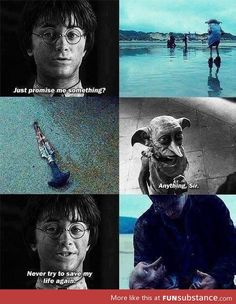 Anybody else feeling like their heart was re-ripped from your chest? :'( Dobby...