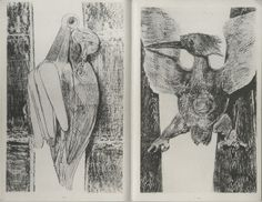 Frottages de Max Ernst - Histoires naturelles, 1926 the full set of histories on this site