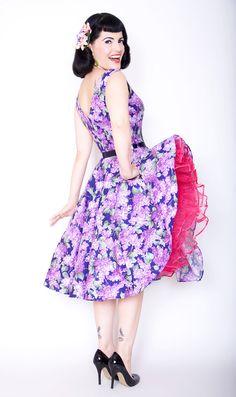 Lilac Dress by Bernie Dexter