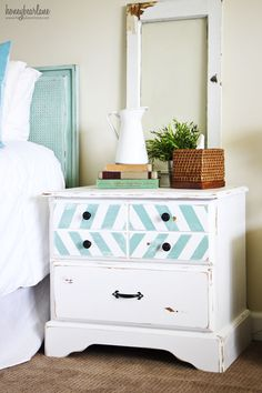 paint, dresser nightstand