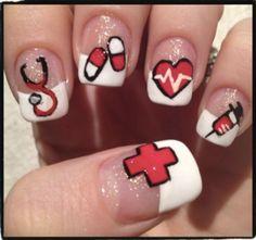 Uñas salud enfermeras medicos medicina // Nails nurses health
