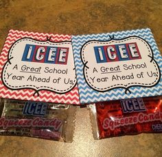 FREEBIE! I used these on Meet Your Teacher day at my school. After my new kinders completed a scavenger hunt this was their prize at the end! Enjoy!