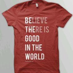 Inspirational shirt