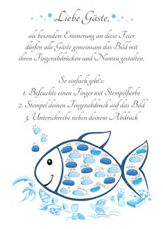 Fingerprint Fish Communion Gift Guest Book-Girl & Young Communion-Poster Blue Things blue q color es Cadeau Communion, Communion Gifts, Communion Book, Color Symbolism, Paint Dipping, Needlepoint Belts, Selling Handmade Items, Vintage Nursery, Colored Highlights