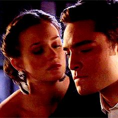 """""""you spent a year chasing after me. So now its my turn to chase after you"""" blair(:"""