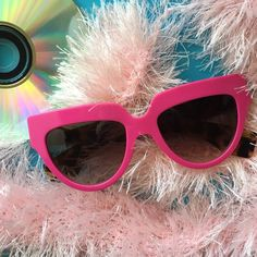PRADA pretty in pink NEW Super cute and fun, 100% Authentic, purchased at Nordstrom, not shipped in PRADA case, make an offer, no trades, feel free to ask questions. Shipments made every Thursday!  Prada Accessories Sunglasses