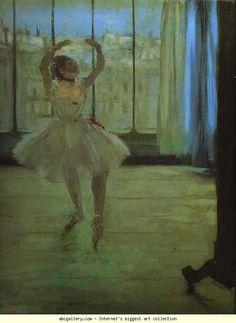 Edgar Degas. Dancer at the Photographer's.