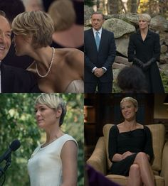 She really does have the most amazing power wardrobe. #HouseofCards #CliareUnderwood