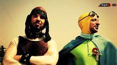 """Francesco Montanari e Riccardo De Filippis, sono loro i supereroi di Super G, finalmente online su FlopTV! Qualcuno di voi ha conosciuto Super G in anteprima al Roma Fiction Fest, al Road to Ruins e al Cinema Palazzo. Si è sentito parlare in tutto lo stivale della resurrezione di quelli della """"banda della Magliana"""" e ora che Libanese e Scrocchiazzeppi si sono spogliati degli abiti da cattivi in Romanzo Criminale - la serie, per indossare la maschera di Super Cane e Super Cicala, possiamo…"""