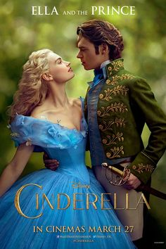 Cinderella trailer 2015 movie: Stars Lily James as Cinderella (Glamour.com UK)