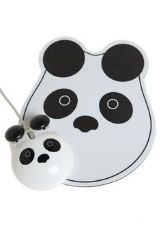 Panda Points Mouse and Pad Set