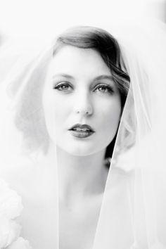 Beautiful bride photograph by Angela Higgins.