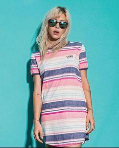 Striped up summer: the Sierra Tee Dress.
