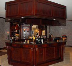 Custom Front Desk for a Spa  http://www.normanskillcustomcabinets.com/