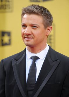 Jeremy Renner from The Hurt Locker at the Critics' Choice Movie Awards held on January 15, 2010.