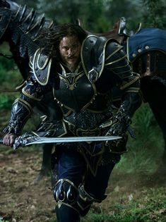 Check out a new image of Anduin Lothar from the Warcraft movie