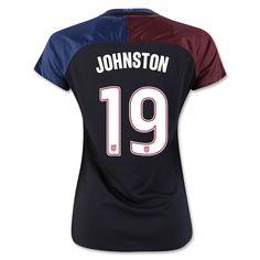 2016/17 USA Away Julie Johnston Women's 3-Star Soccer Jersey (#19)