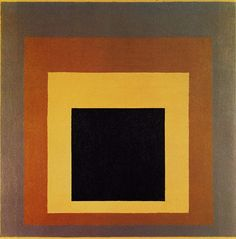 Art History Timelines: View Artwork: Joseph Albers, Homage to the Square Josef Albers, Anni Albers, Op Art, Bauhaus, Abstract Expressionism, Abstract Art, Modern Art, Contemporary Art, Art Moderne