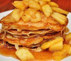 Heavenly Buttery Cinnamon Apple Pancakes