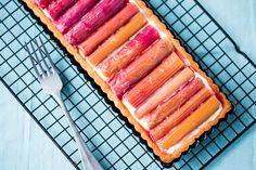 This Thermomix Rhubarb Tart is a definite showstopper for the dinner table. The creme patisserie is super fluffy and so easy to make in the Thermomix.
