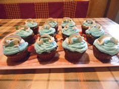 Szivárvány muffinok