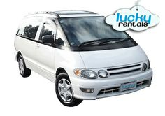 Juicy Rentals | Toyota Previa or similar | http://www.jucy.co.nz/vehicles/lucky-crib.aspx
