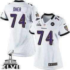 4c9b9f0ad ... Team Color Jersey Sale NFL Pinterest Womens Nike Baltimore Ravens 88  Dennis Pitta Game White Super Bowl XLVII NFL JerseySomething went wrong ...