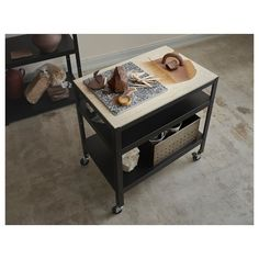 IKEA BROR trolley Can be used in damp areas indoors. Kitchen Island Trolley, Concrete Bags, Catalogue Ikea, Ikea Shopping, Pine Plywood, Ikea Kitchen Cabinets, Kitchen Reno, Ikea Design, Ikea Inspiration